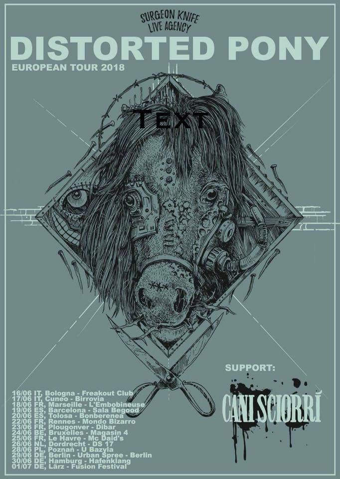 Euro tour with  Distorted Pony  kicks off in 2 weeks - looking forward to seeing my overseas friends and fans!