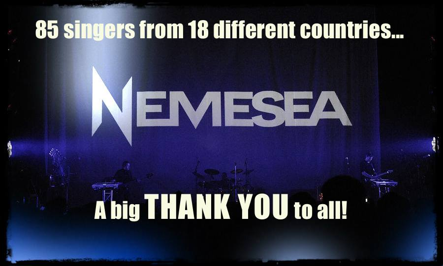 Nemesea new singer