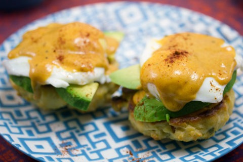 Chorizo biscuits + chipotle hollandaise... need I say more?