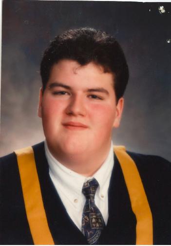 Eric Turner, Grade 12 Graduate 1998