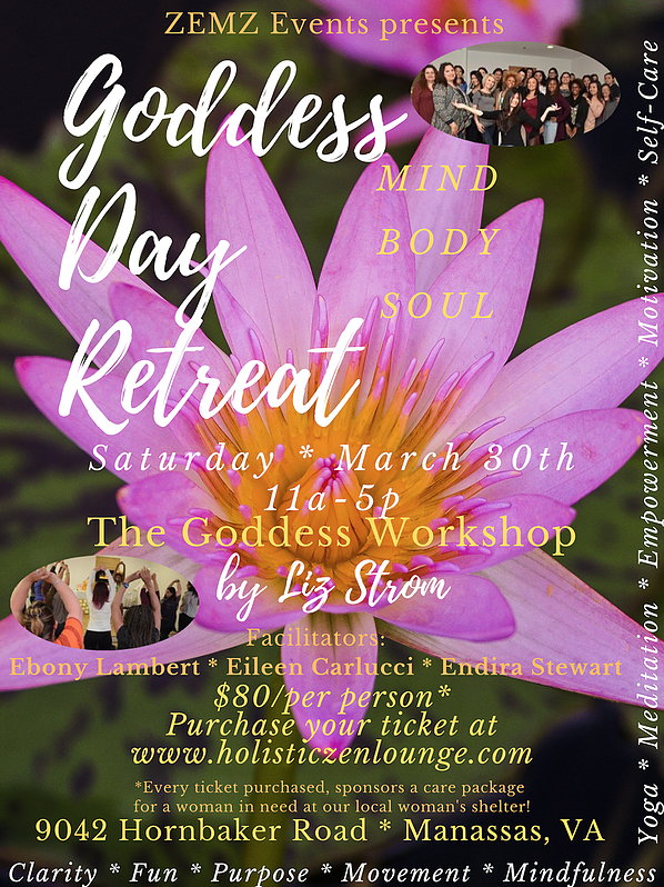 goddess workshop 2019 ZEMZ events