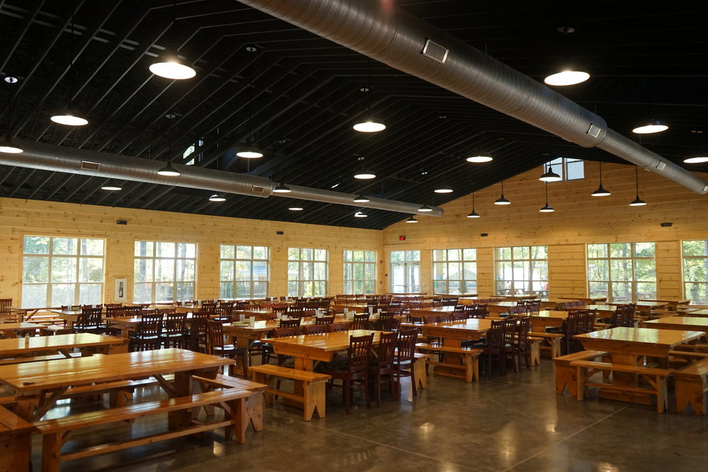 Dining Hall Progress!