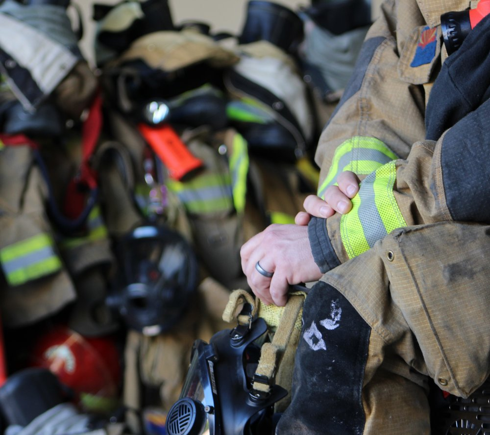 Firefighter Wedding Rings That Keep You Safe Saferingz