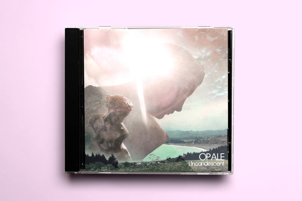 "Opale ""L'Incandescent"" CD (Front Cover)"