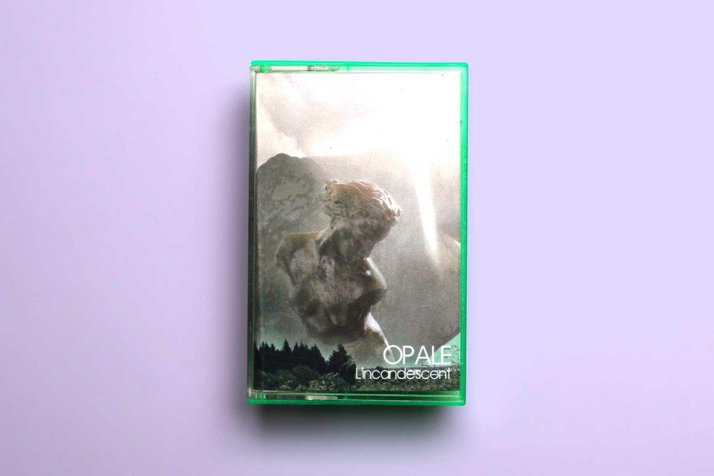 """Opale """"L'Incandescent"""" Cassette (Front Cover)"""