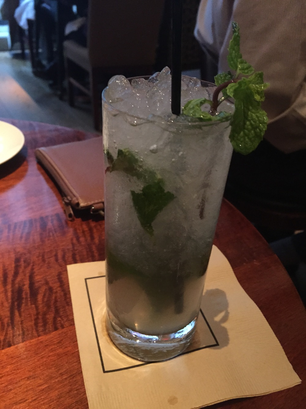 Ginger Swizzle Barritt's Ginger Beer, Mint, Lime