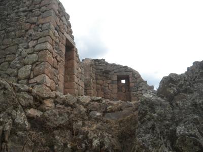 Stonework in Pisaq