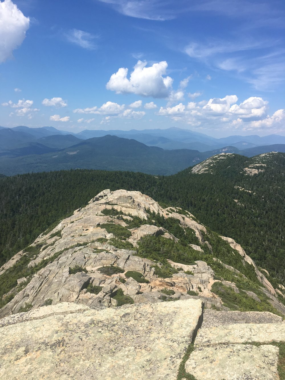 It was the perfect day and the views from the top of Chocorua were spectacular.