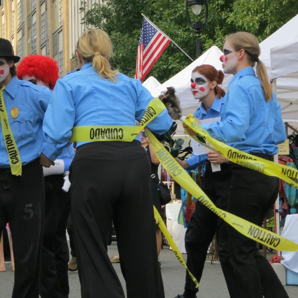 SPARKcon Security Clowns.