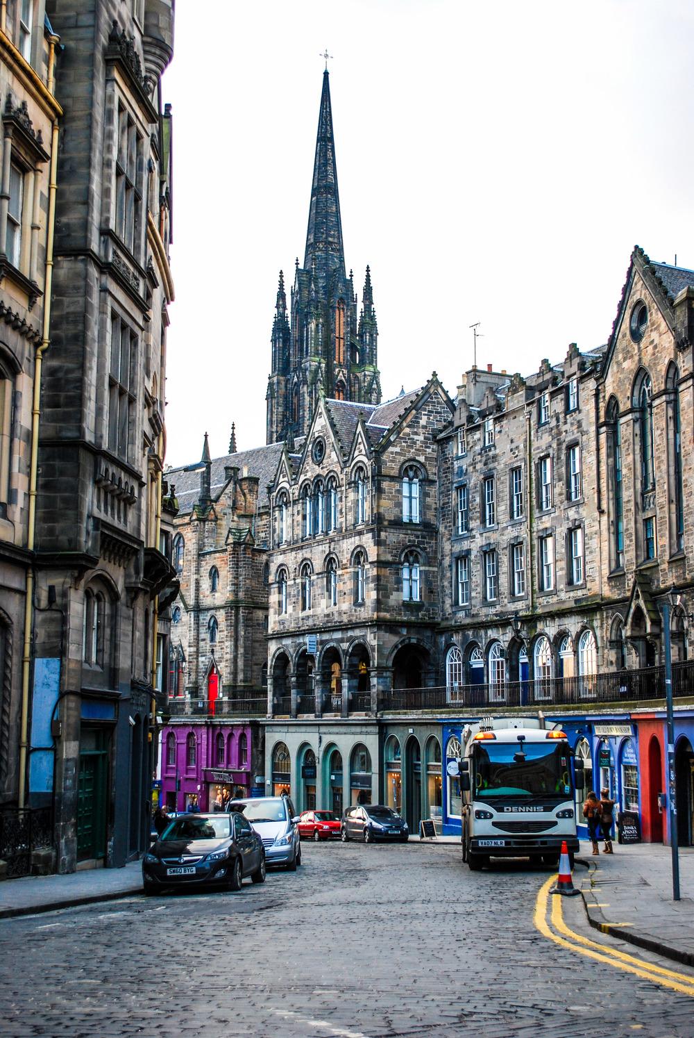 Victoria Street, Scotland