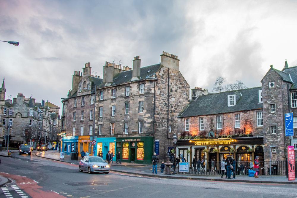 Candlemaker Row, Scotland