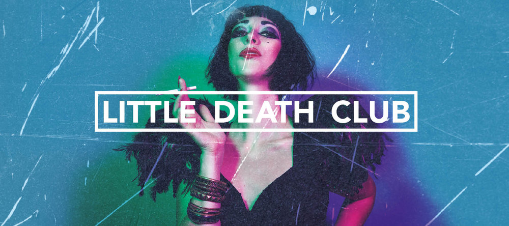 dead man label little death club bernadette byrne