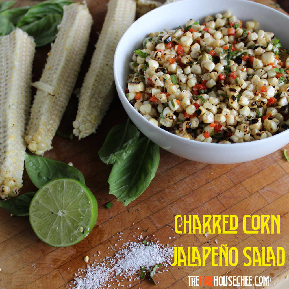 Charred Corn & Jalapeño Salad