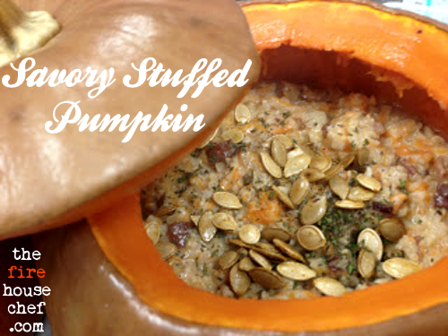 Savory Stuffed Pumpkin