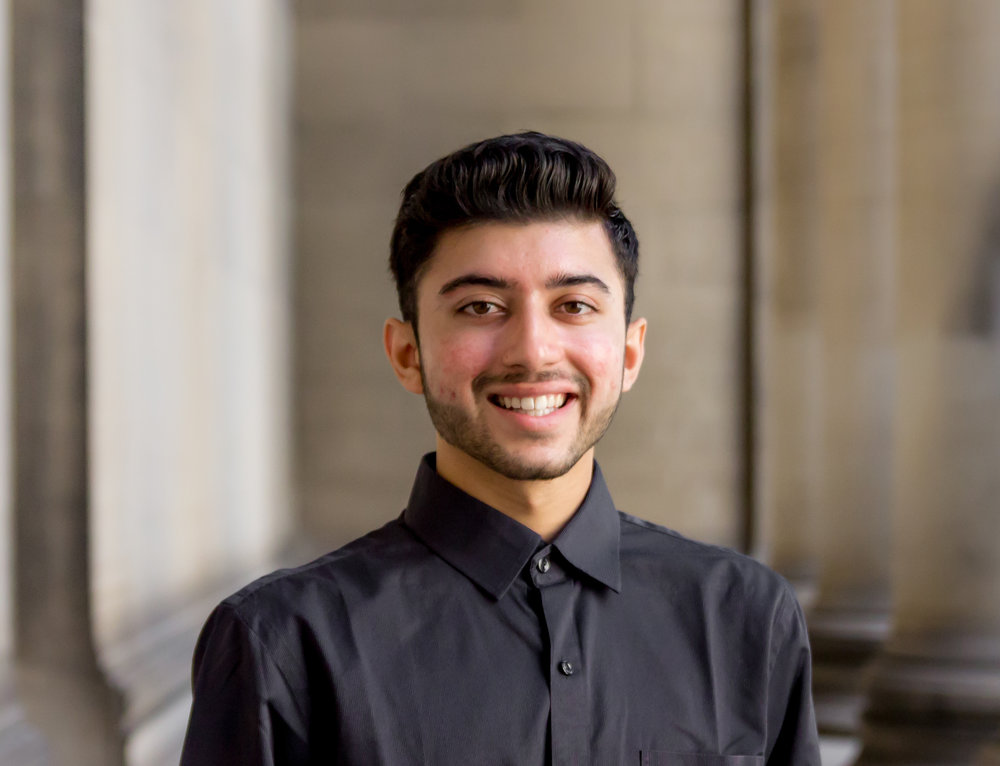 "Name:  Archit Arora   Graduation year:  2021   Major:  Information Systems/ minor in Computer Science   Interests : Basketball, Dance, Machine Learning, Virtual Reality   Quote : ""There is no elevator to success - you have to take the stairs"""