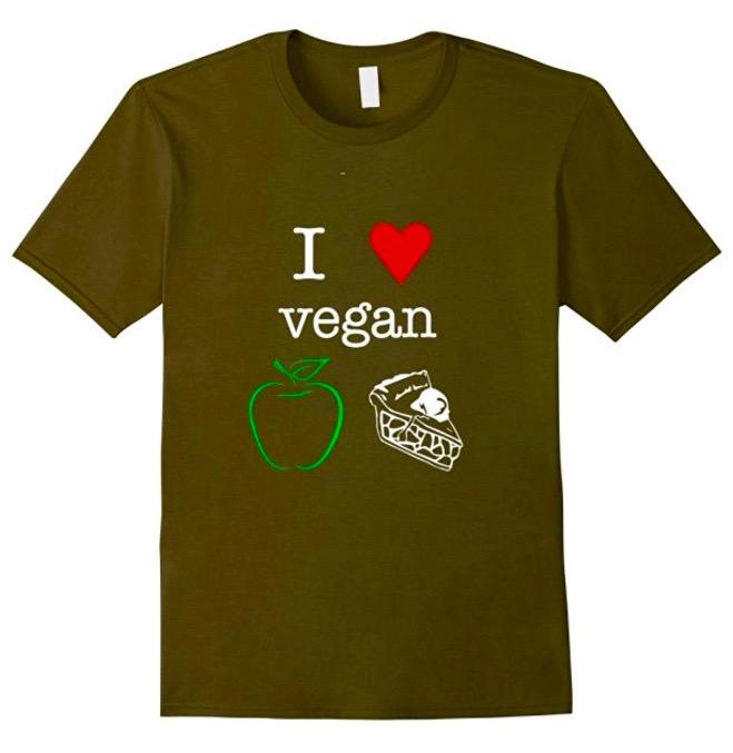 I heart vegan Apple Pie -on sale now