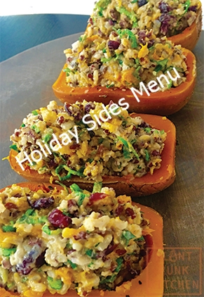 Click Image for Thanksgiving side dishes menus
