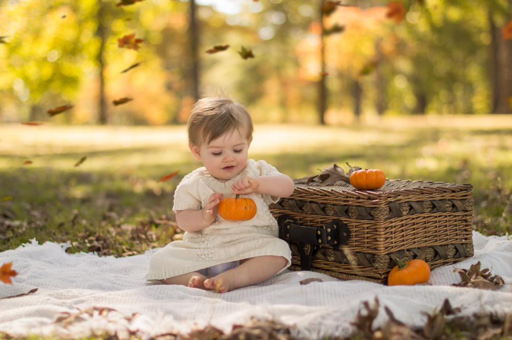 Children's Fall Photo Shoot