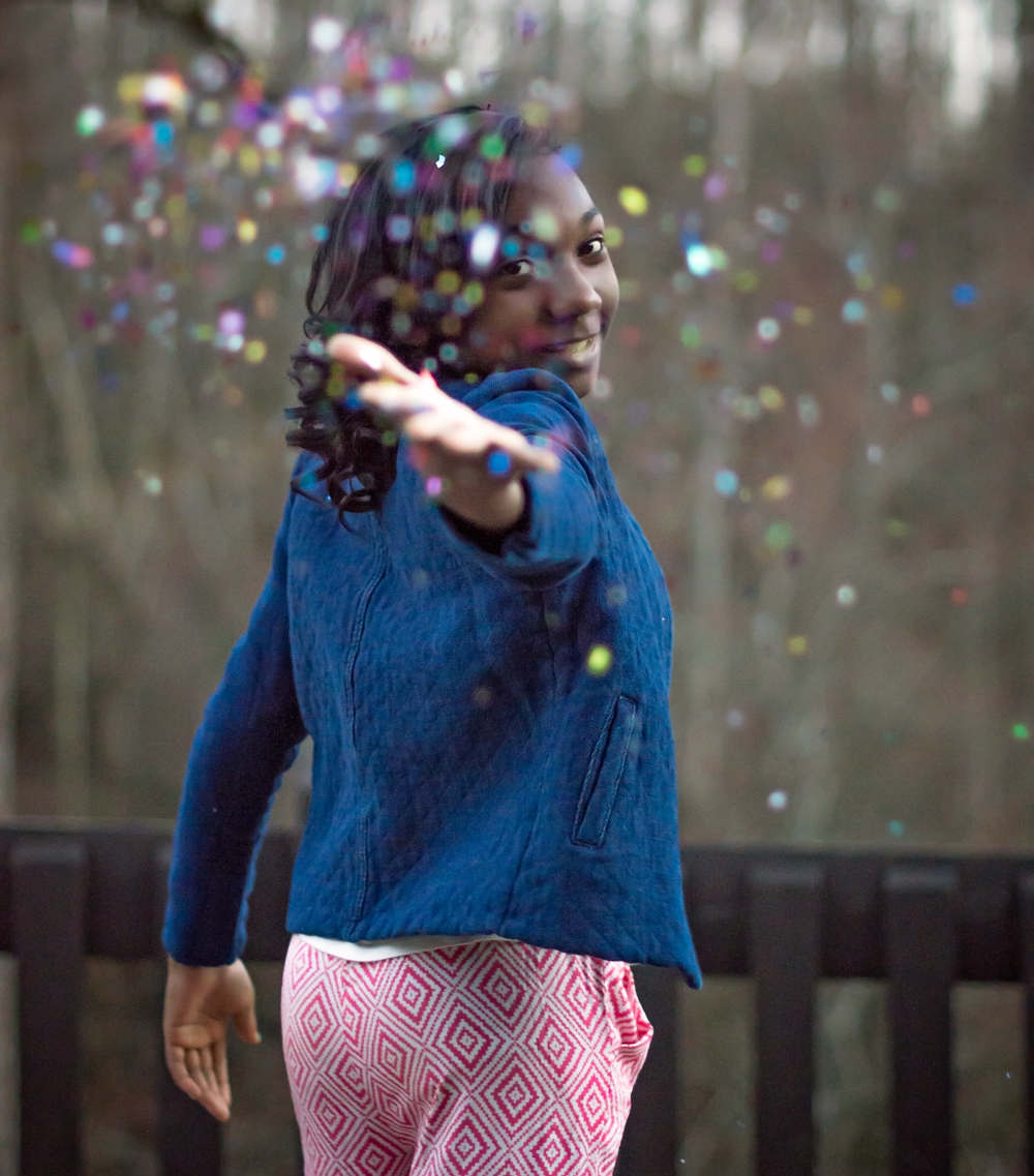 Glitter Photo Session in Roswell, GA