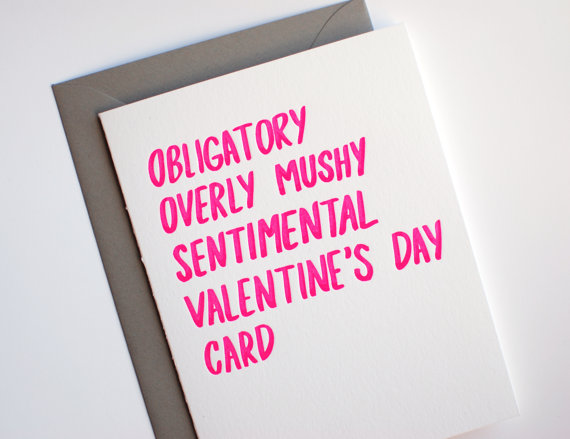 Funny Valentines Day Cards for Unusual Romantics The Lovely Cicada – Unusual Valentine Cards