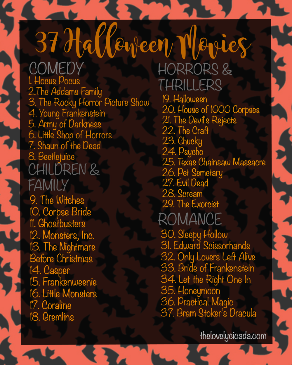 The Lovely Cicada | 37 Halloween Movies To Watch
