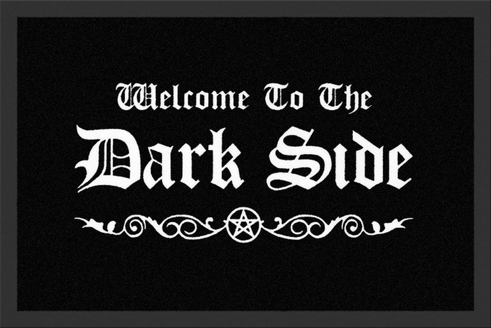 Welcome to the Dark Side Door/Floor Mat - $29.90