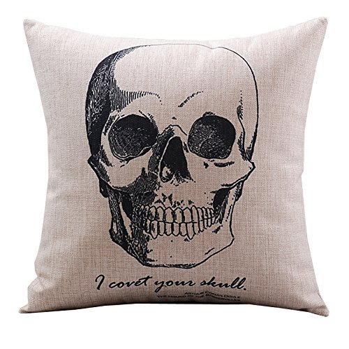 Decorative Skull Cushion Cover - $4.59