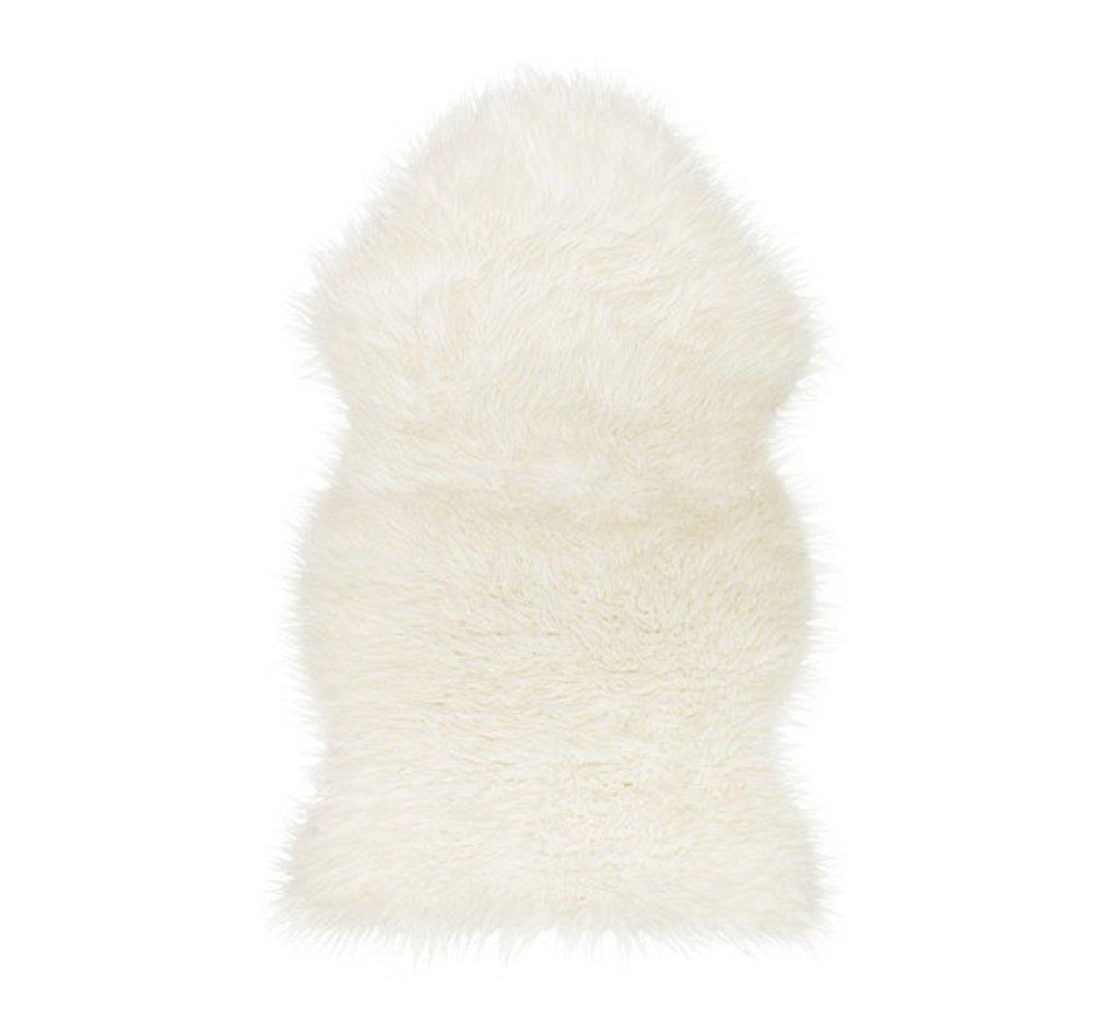 Faux Sheepskin Rug - $24.81