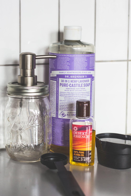 DIY Quick + Simple Liquid Hand Soap
