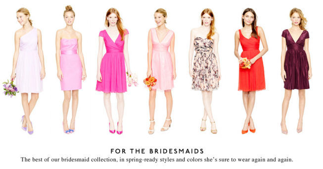 J.Crew Bridesmaids Dresses on Sale - Glitterary