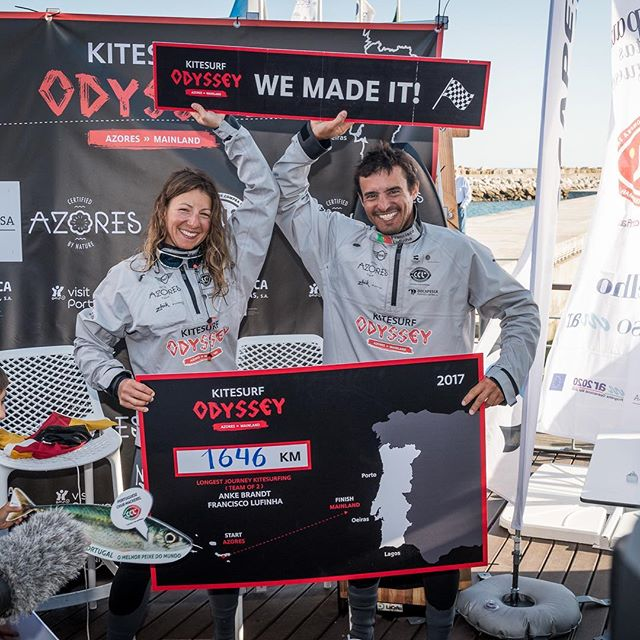 It's happening now!! Premiere if the Kitesurfing Odyssey in 44 countries. 🌍 For viewing times scroll down 📺  Tune it to the Nautical Channel and relive the Kitesurf Odyssey with us! @nauticalchannel  Pics @rspinto  @diogocardoso.pt  #kitesurfodyssey  #kitegirl #atlanticcrossing #atlantic #azores #portugal #azoreswhatelse  @azoreswhatelse  @flysurferkiteboarding  @zhikaustralia  @surfears  @lip_sunglasses  More times to view are: (Germany , GMT+2) 16 Jan - 21h00 17 Jan - 04h, 10h, 15h 18 Jan - 05h, 14h 19 Jan - 02h, 15h 20 Jan - 07h, 16h 21 Jan - 01h, 11h, 23h 22 Jan - 06h, 16h 23 Jan - 24h, 09h
