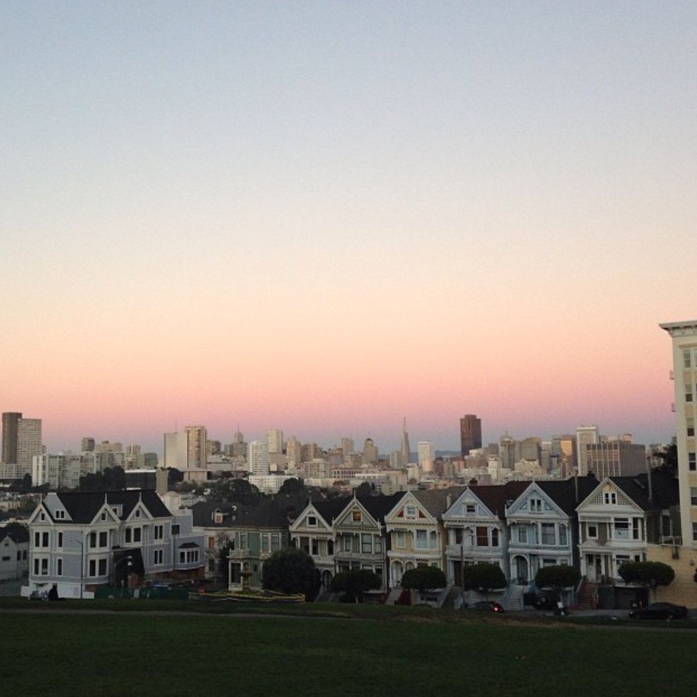 Pink skies and Painted Ladies #repost from @karlthefog