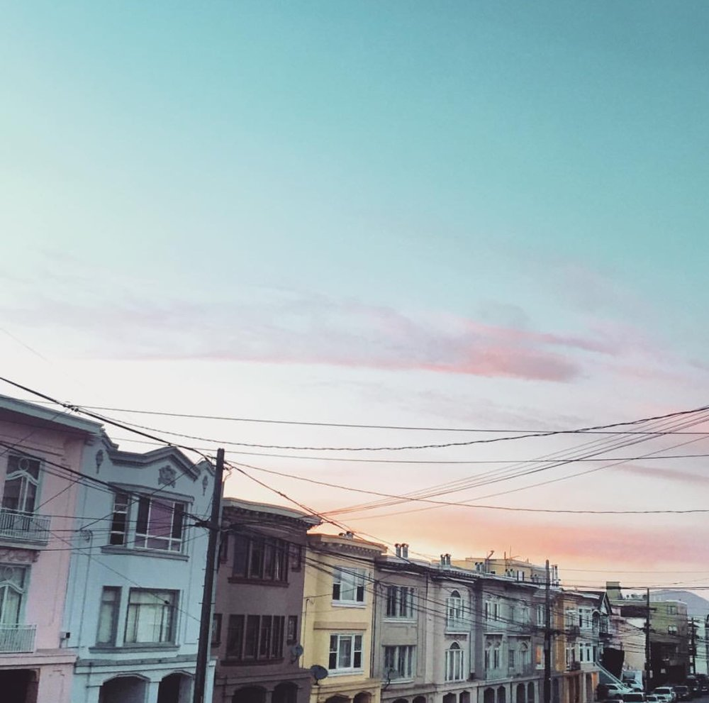 Sunset + San Francisco