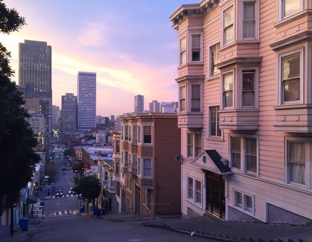 North Beach Sunrise + Repost