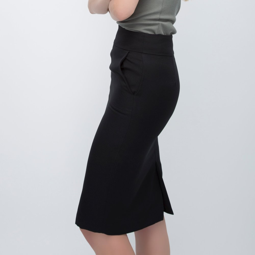 Black Pencil Skirt + What to Wear to Work
