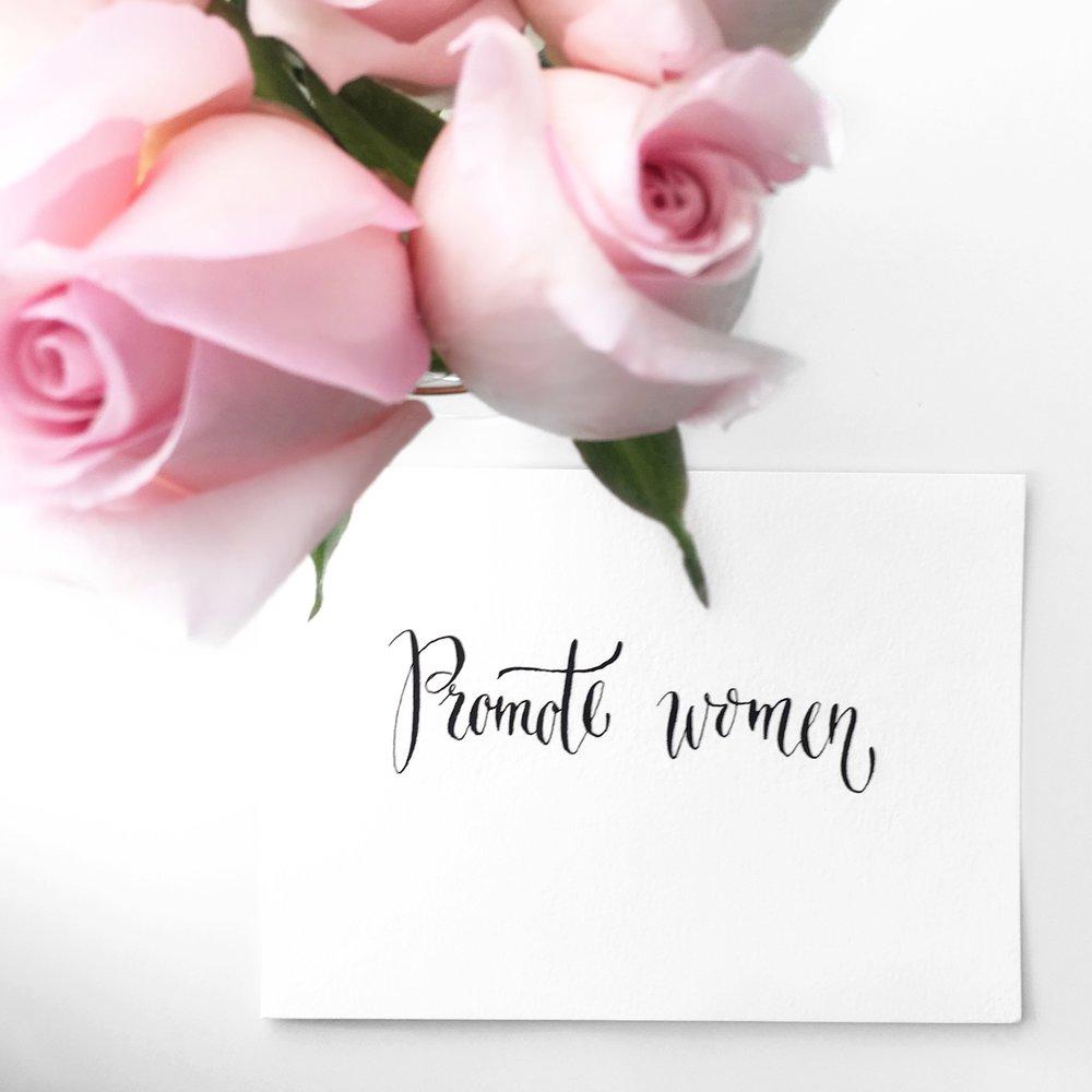 Promote Women