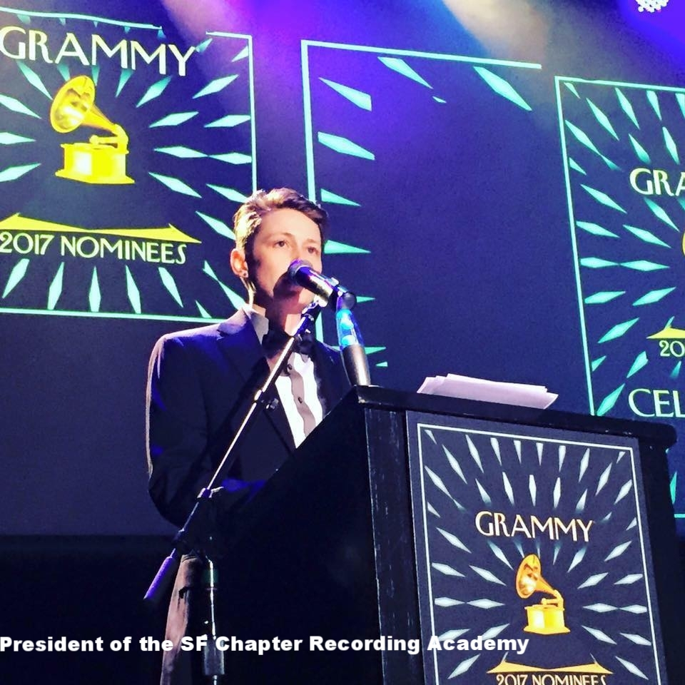 Piper speaking as  President of the SF Chapter of the Recording Academy
