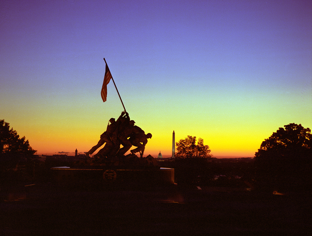 Sunrise at Iwo Jima