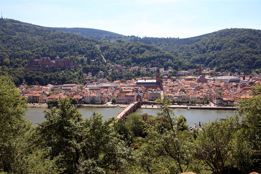 Skyline of Heidelberg