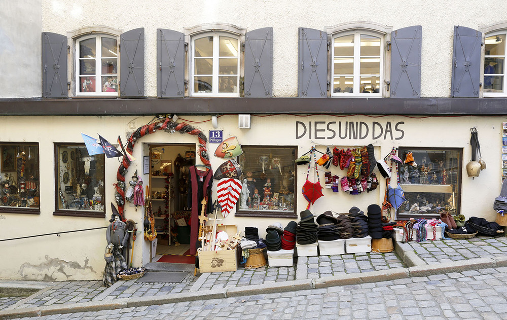 Gift Shop in Passau
