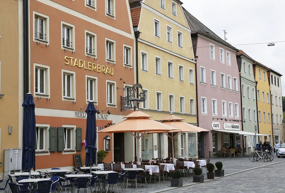 Pastels in Regensburg
