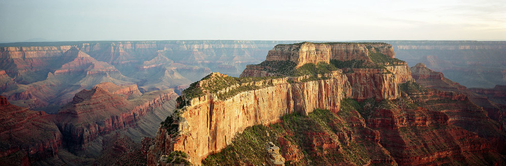 Grand Canyon Sunset Panorama