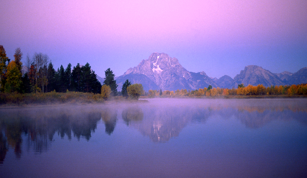 Sunrise on the Snake
