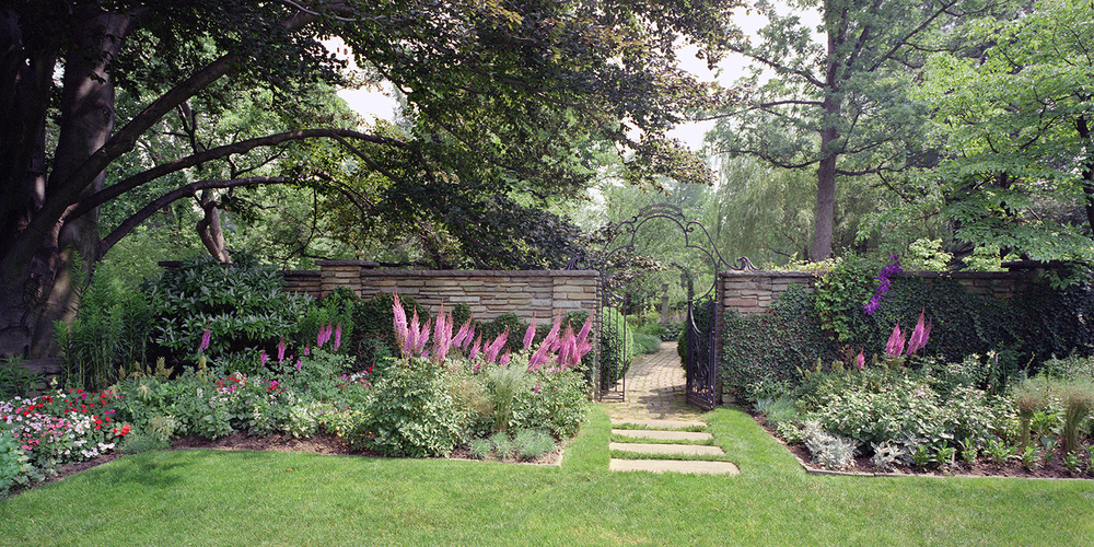 The English Garden at Dumbarton Oaks