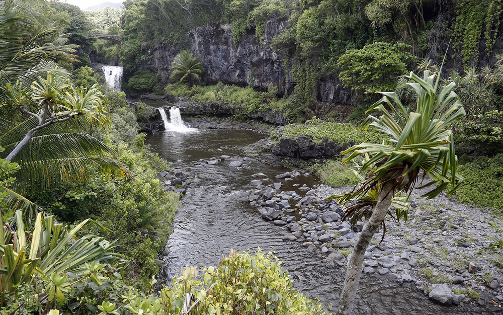 Waterfalls in Haleakala National Park