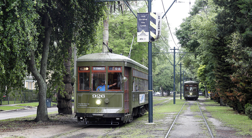 The St. Charles Streetcars