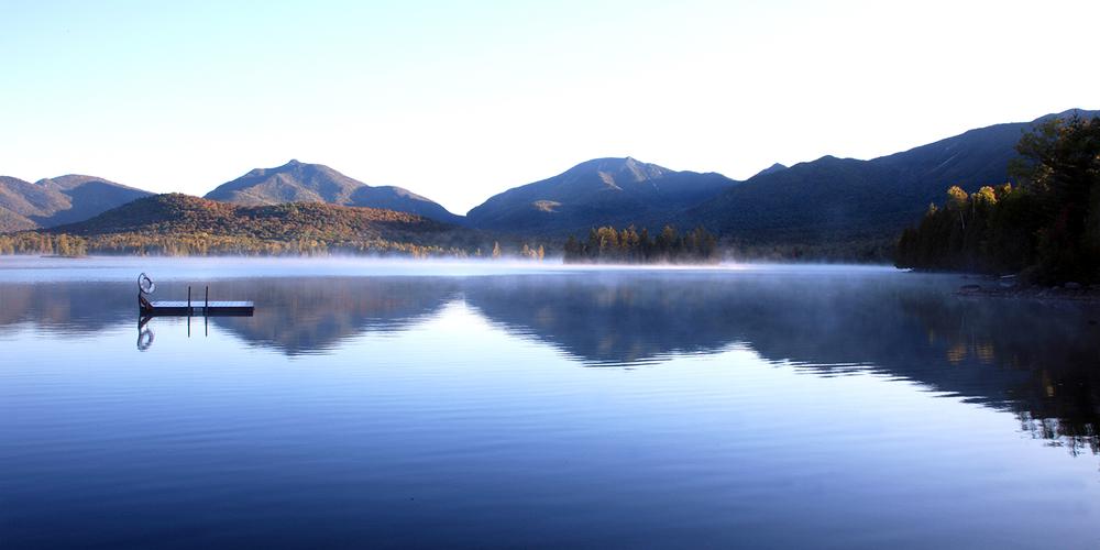 Dawn at Elk Lake