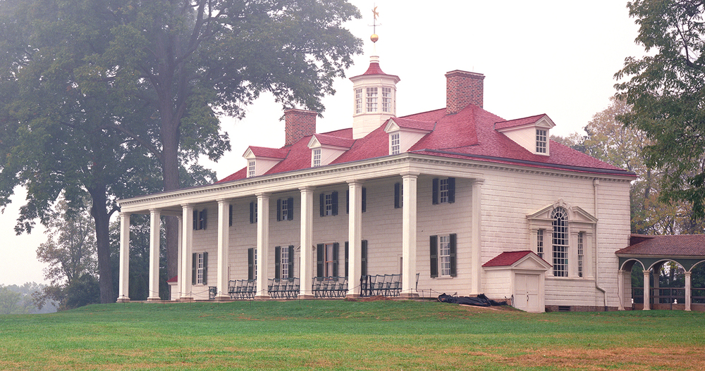 The West Front of Mount Vernon