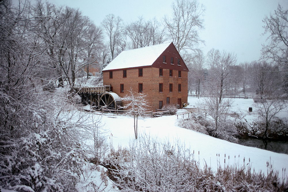 Winter at the Colvin Run Mill