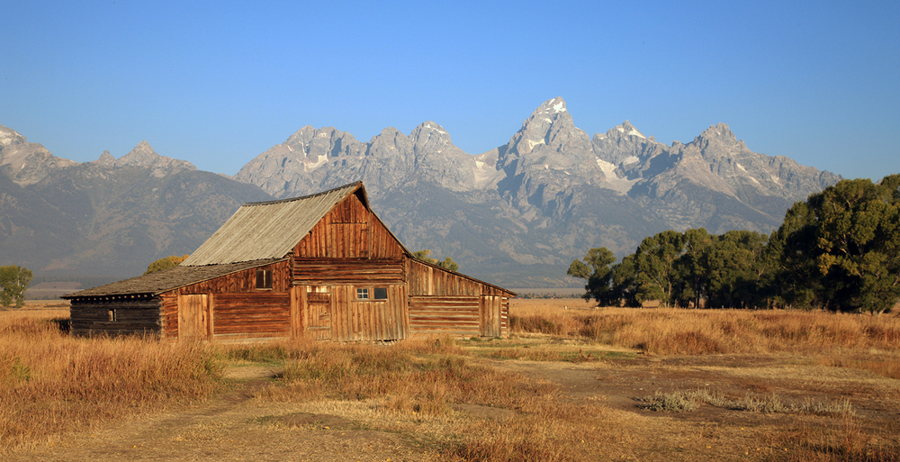 The Mormon Barn in Fall